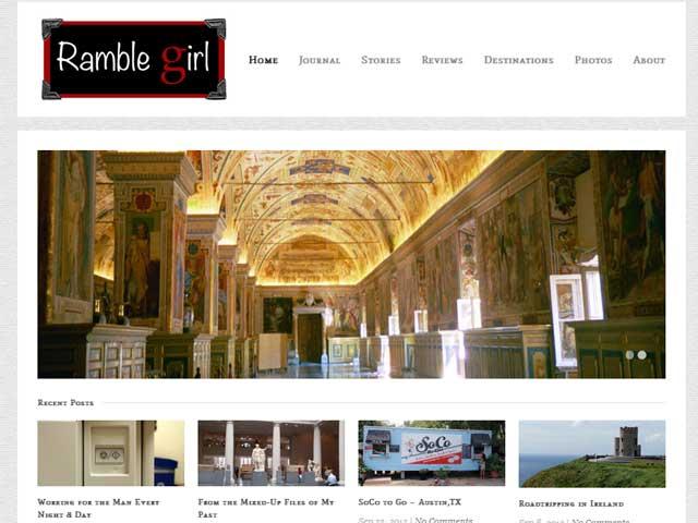 Ramble Girl Website